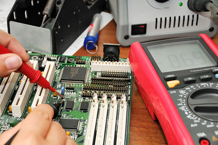 Electrical and HMI repairs