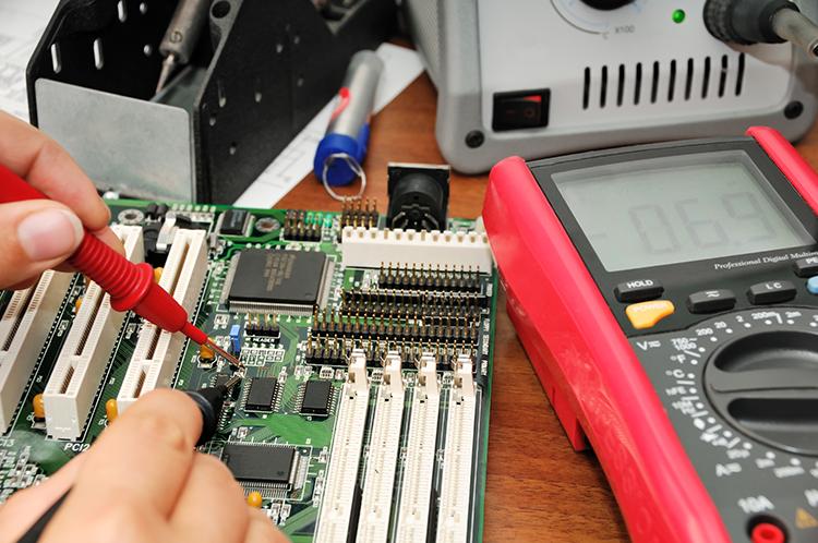 Electrical and HMI repairs